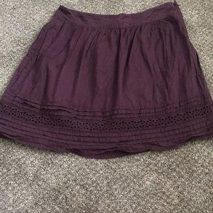 Loft Boho short skirt